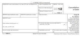 Payday Lender is Threatening Me With a 1099-C IRS Form. – Julia