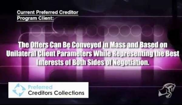 Does Moran Drexens Preferred Creditor Program Create a Problem for Consumers?