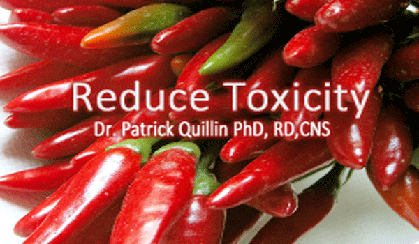 Getting Healthier Reduce Toxicity