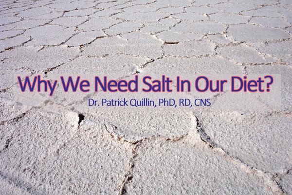 Getting Healthier with Salt