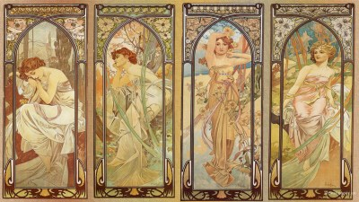 Art Nouveau Desktop Wallpaper (47+ images)