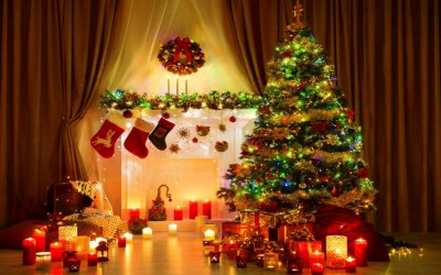 Christmas Tree Desktop Background (74+ images)