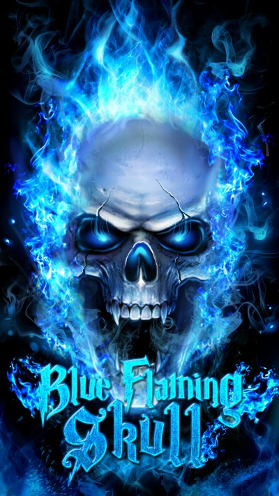 Flaming Skull Wallpaper (59+ images)