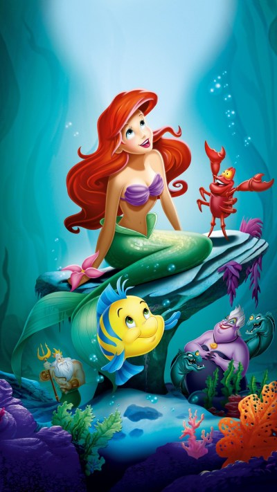 The Little Mermaid Wallpapers (60+ images)