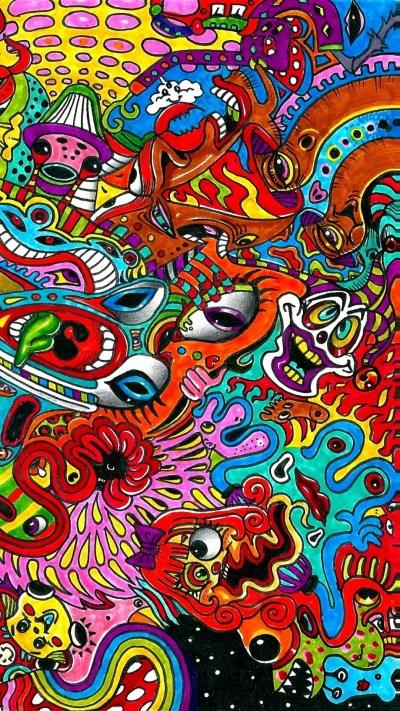 Trippy Acid Wallpaper (63+ images)
