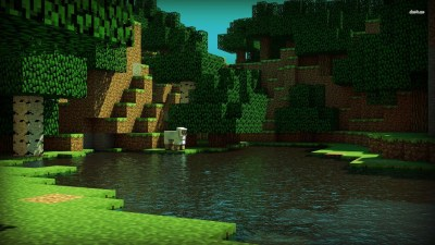 Minecraft Backgrounds (80+ images)