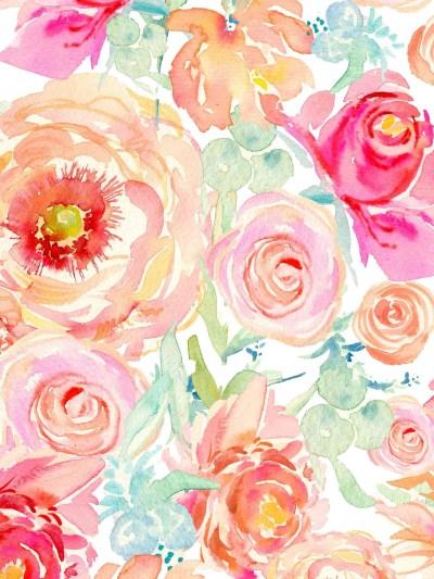 Watercolor iPhone Wallpaper (72+ images)