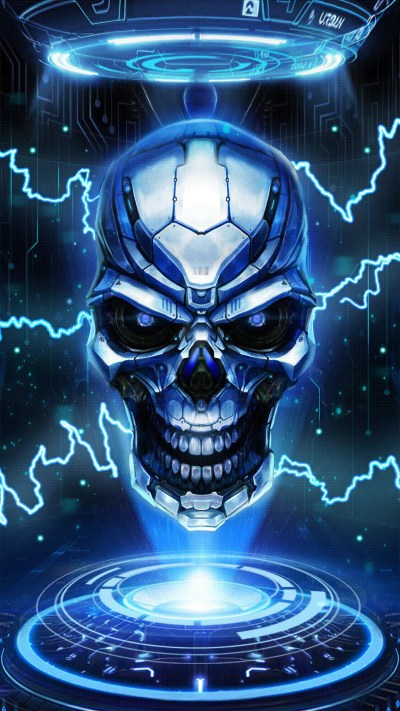 Blue Skull Wallpaper (59+ images)