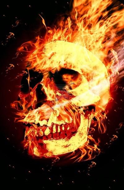 Skull Fire Wallpaper (61+ images)