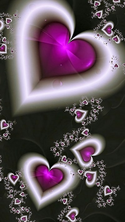 Purple Hearts Backgrounds (47+ images)