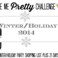 Winter Style Me Pretty Challenge   2014