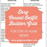 Outfit Builder Grid:  An Easy Way to Get Dressed Every Day