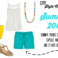 Summer 2015 GYPO Style Challenge