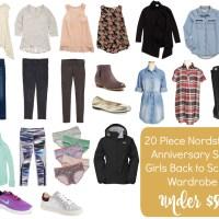 20 Piece Girls Back to School Wardrobe Under $50