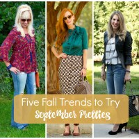Five Fall Trends to Try:  September Pretties