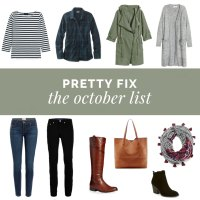 Pretty Fix:  October - 10 Fall Essentials for Moms