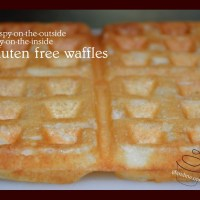 Awesome Almond Flour Gluten Free Waffles