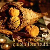 gluten free apple and raisin stuffing