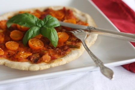 TWD: Eastern Mediterranean Pizza, copyright 2013, gfcelebration.com, All rights reserved.