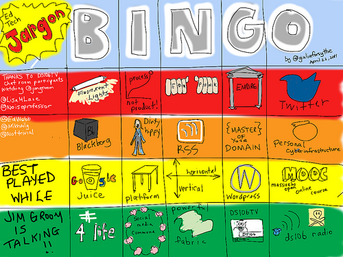 Ed Tech Jargon Bingo