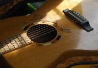 face of guitar