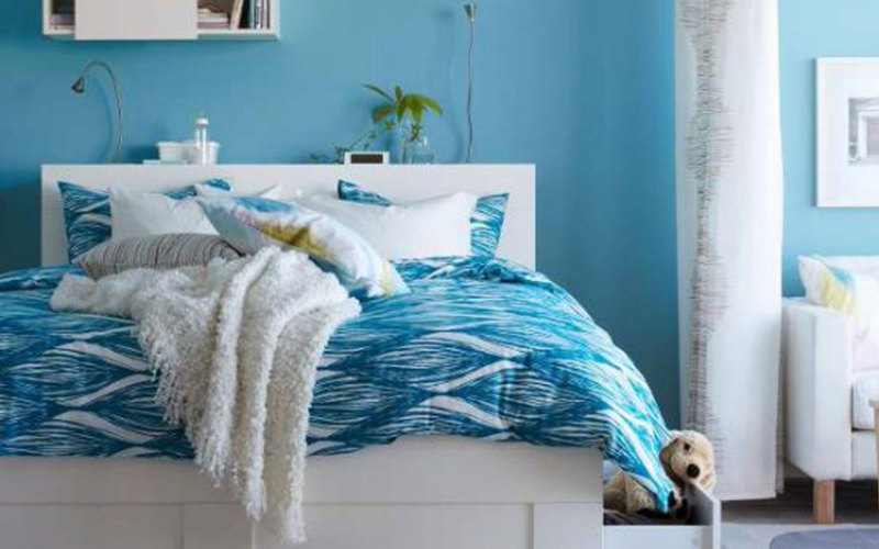 Large Of Blue Bedroom Designs Ideas