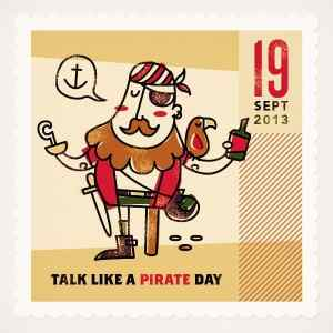 Talk Like A Pirate Day