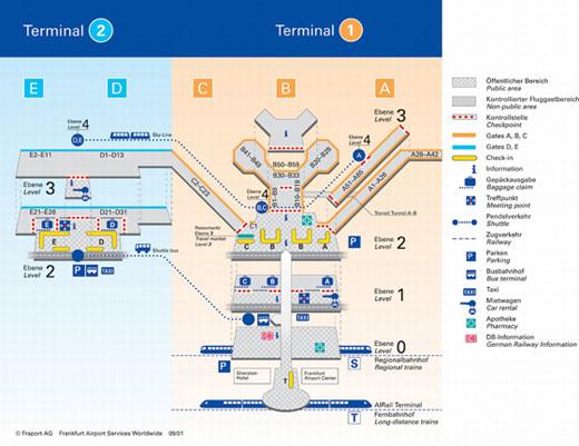 карту аэропорта