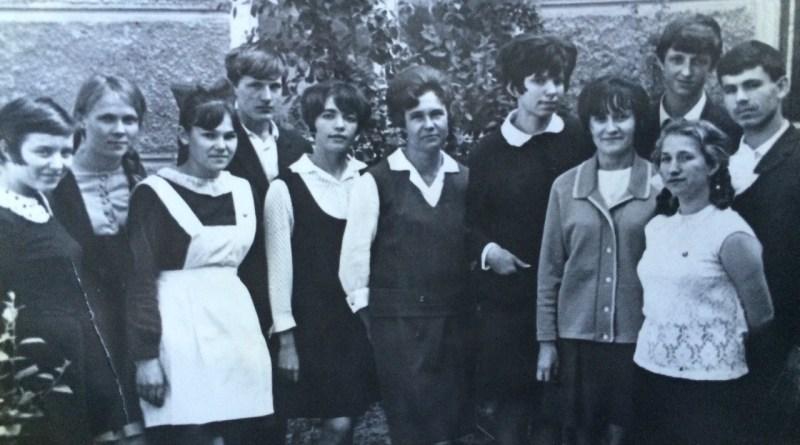 Чимишлия выпыскной класс русской школы 1969 год