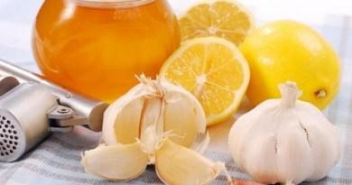 med cesnok lemon