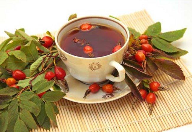 чай из изюма и шиповника