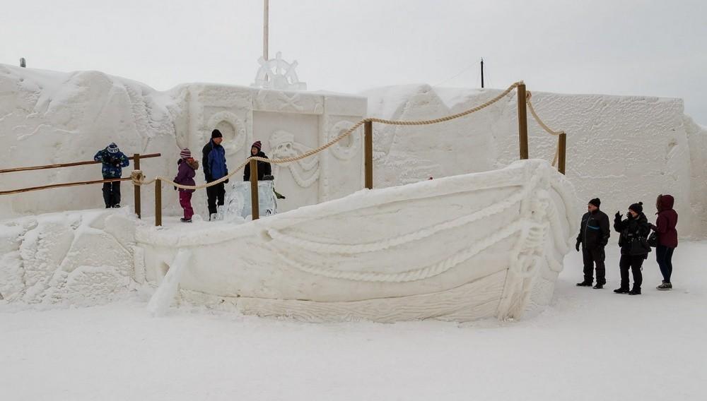 6. Почувствуй себя покорителем Арктики.