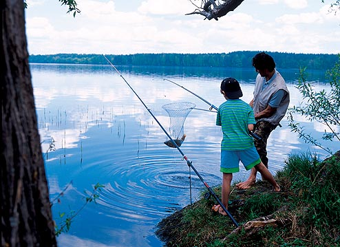 активный отдых на реке рыбалка