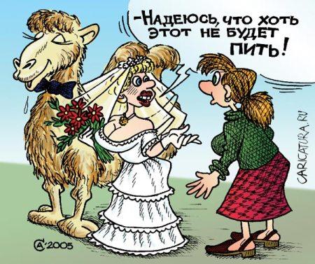 caricatura nevesta