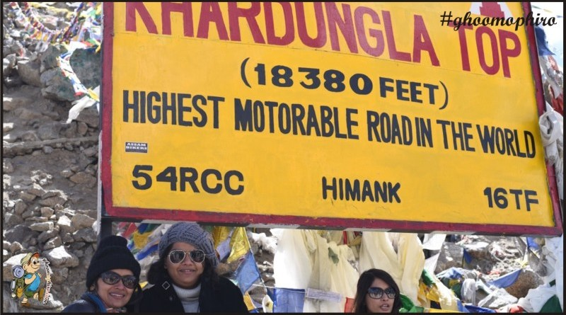 Journey to the highest motorable Pass in the world is a feat in itself!