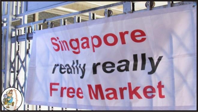Singapore's Really Really Free market