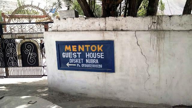 Tsomoriri_Mentok guesthouse