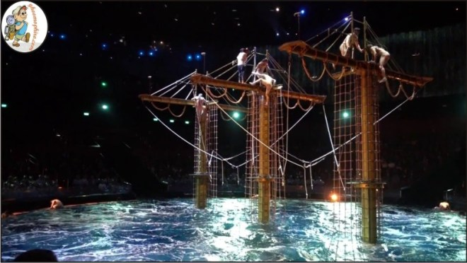 The House of Dancing water show.