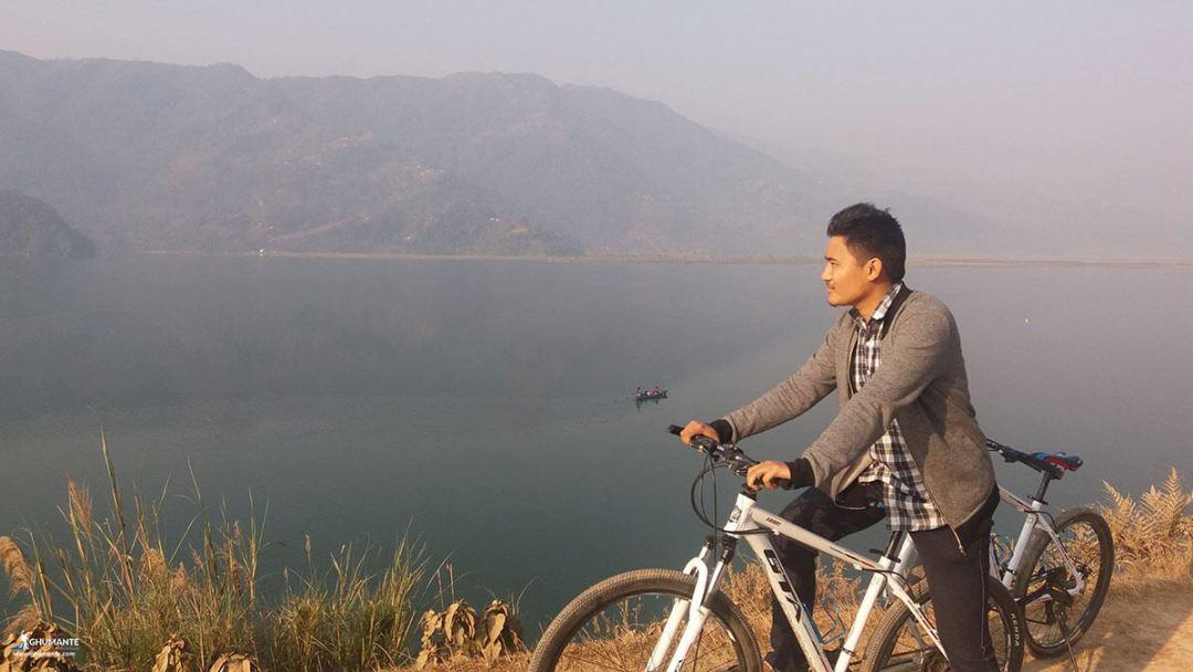 3rd Positions Nischal Tamang Fewa Lake