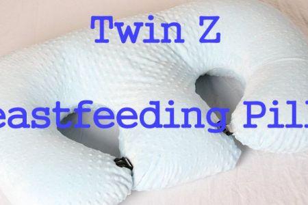 Twin Z Pillow For Breastfeeding Moms