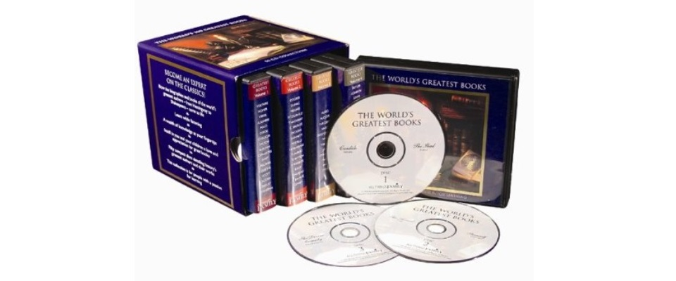 Audio Books on CD's are Great Gifts