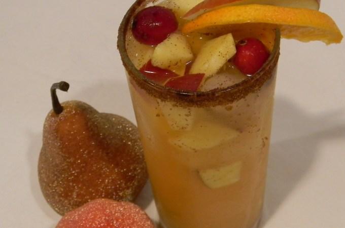 Thanksgiving Cocktail Hour:  Autumn Spice Slammer