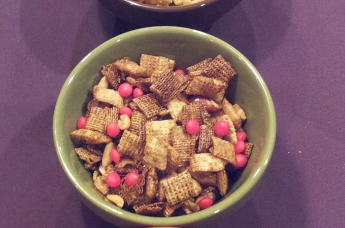 Holiday Mix in the Making:  It's Chex Party Mix Time