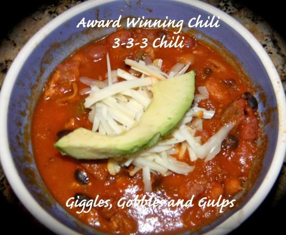 award winning chili