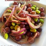 Thinking Thin!  Edamame and Grape Salad