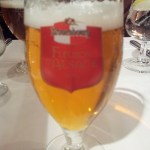 Beer with dinner