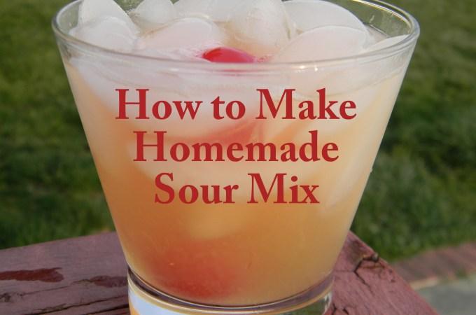 How to Make Homemade Sour Mix