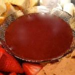 chocolate peanut butter fondue 2