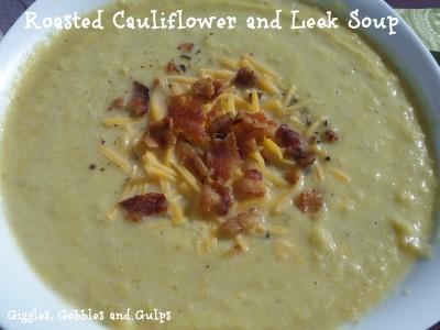 Roasted Cauliflower and Leek Soup Recipe