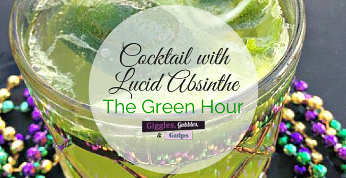 Cocktail with Lucid Absinthe – The Green Hour